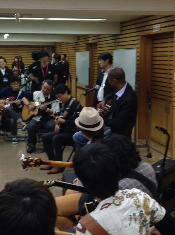 Another photo from the school! How are you celebrating @IntlJazzDay ? http://t.co/ackvMO5ig3