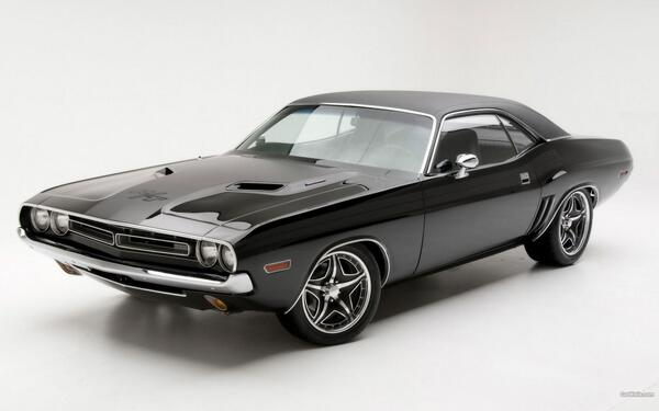 Old School Cars On Twitter Dodge Challenger Rt 1971 Http T Co