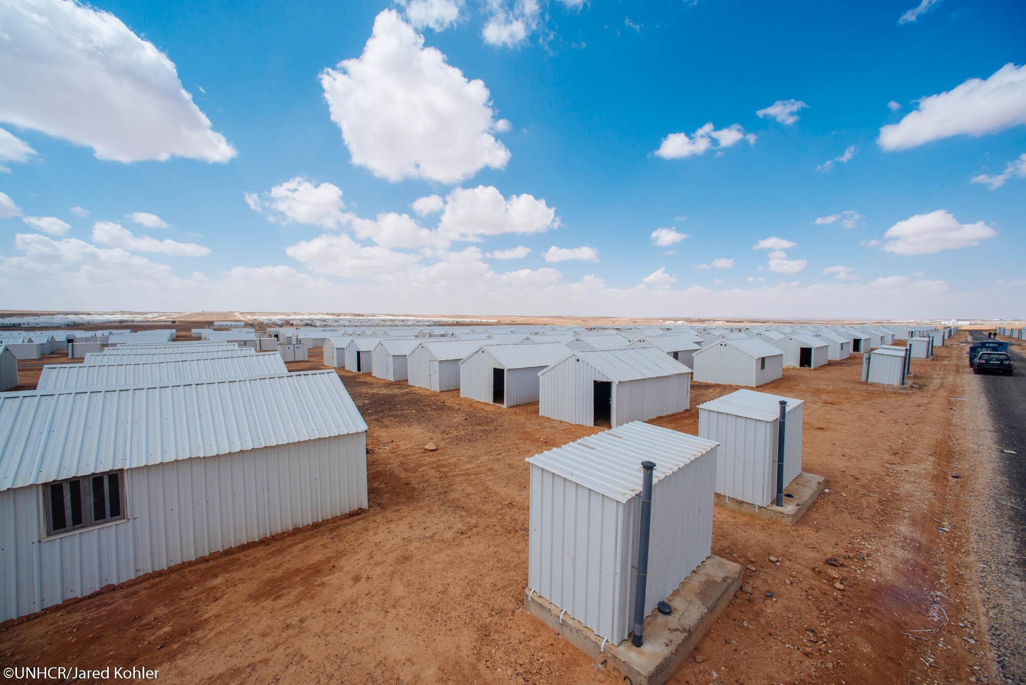 Syrian Refugee camp Azraq