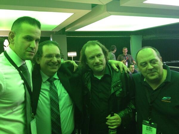 Con Antonio y Kevin Mitnick en Mundo Hacker Day