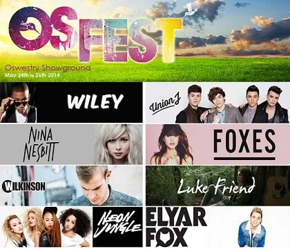 WIN TICKETS for #OSFEST. We've got likes of Wiley, Union J, Connor Maynard, Foxes and more. RT to be in with a chance http://t.co/SEgUBtH4hl