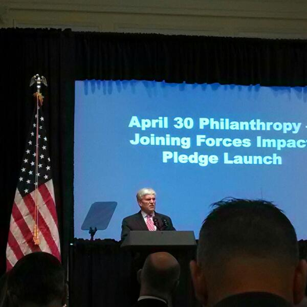 Gen. George Casey: With the war changing, our support for #vets needs to change as well #JoiningForces #PledgeForVets http://t.co/1fso1HpLn5