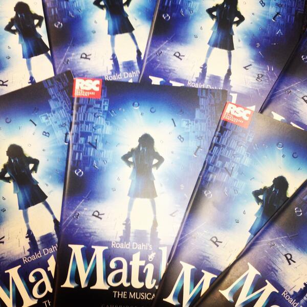 FOLLOW and RETWEET for a chance to win one of six #MatildaTheMusical programmes. Ts&Cs: http://t.co/OjJPReJgCA http://t.co/l5zdIro2mV