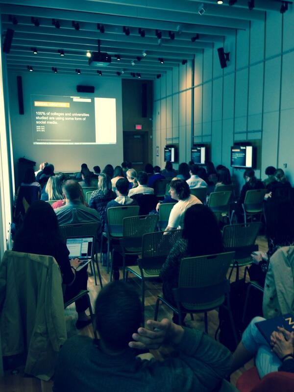 #hec14 full house watching from #umich http://t.co/WLUnLPIM4B