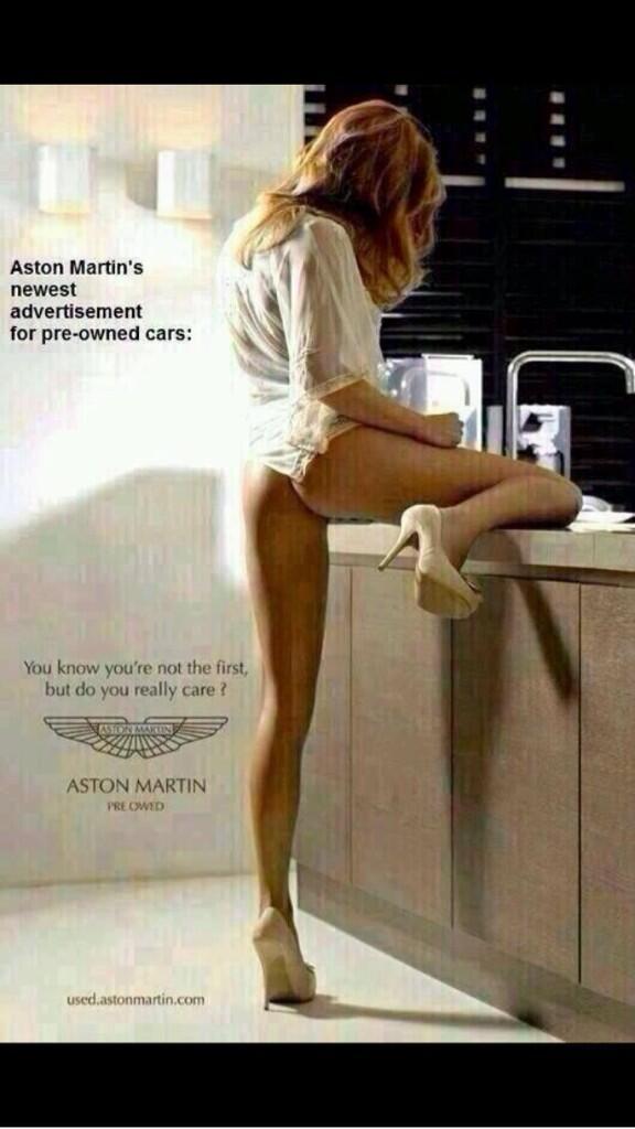 Gabbi Cahane On Twitter Fake Aston Martin Ad For Pre Owned Models
