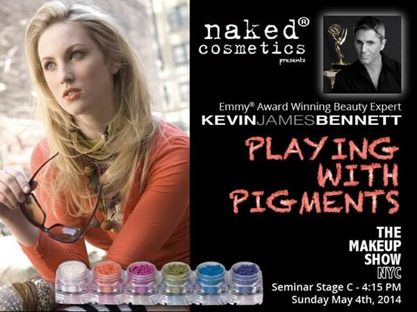 Must see!  Kevin James Bennett Seminar @themakeupshow #themakeupshow @KJBennettBeauty http://t.co/obK3lH8GTS