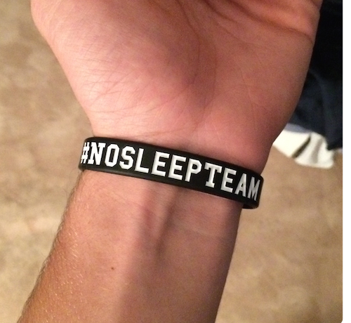Retweet this to win a #NoSleepTeam bracelet from http://t.co/NIBZfZ2XPd Follow me, winner announced in one hour! http://t.co/poIgrMyhDo