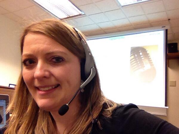 Getting ready to present and decided to join #hec14 selfie bandwagon. Listening and learning! http://t.co/6oez1ikwVl