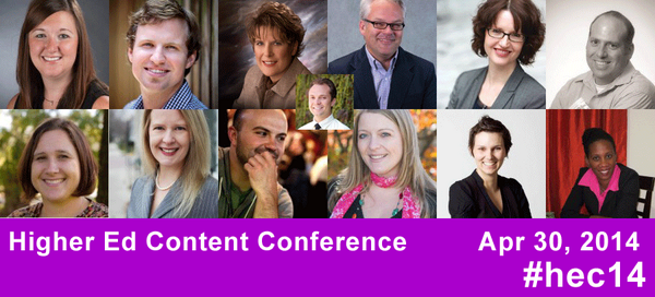 Thanks so much to these great 13 #highered pros (rock stars might be a better term) for making #hec14 conf great! http://t.co/Ubc7DGvdaT