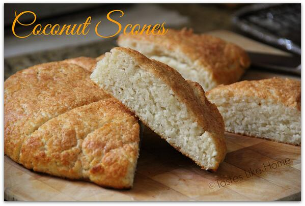 Coconut Scones with Coconut Oil and fresh coconut: http://t.co/n0nzjsCHIt http://t.co/NDFuOzkgNY
