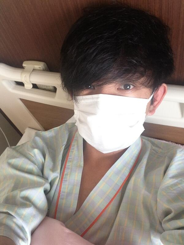 本日、退院いたします。病室で迎える最後の朝。ざわちんじゃないよ。 http://t.co/RgwqBjSKdo