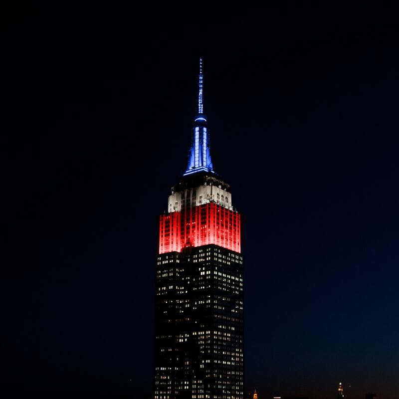What Is The Color Of The Empire State Building Tonight