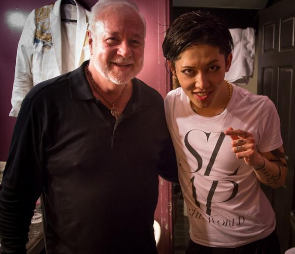 """@MIYAVI_OFFICIAL: @ronanderson101 Sweet to hear that. Thanks to you, I was able to have better performance. THX!"":) http://t.co/Y9rNhr88yl"