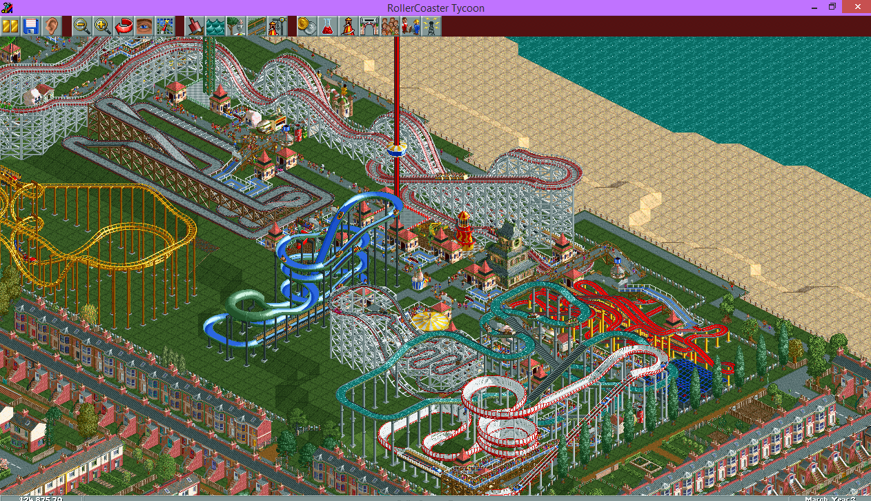 Roller Coaster Tycoon - The Boo Tube