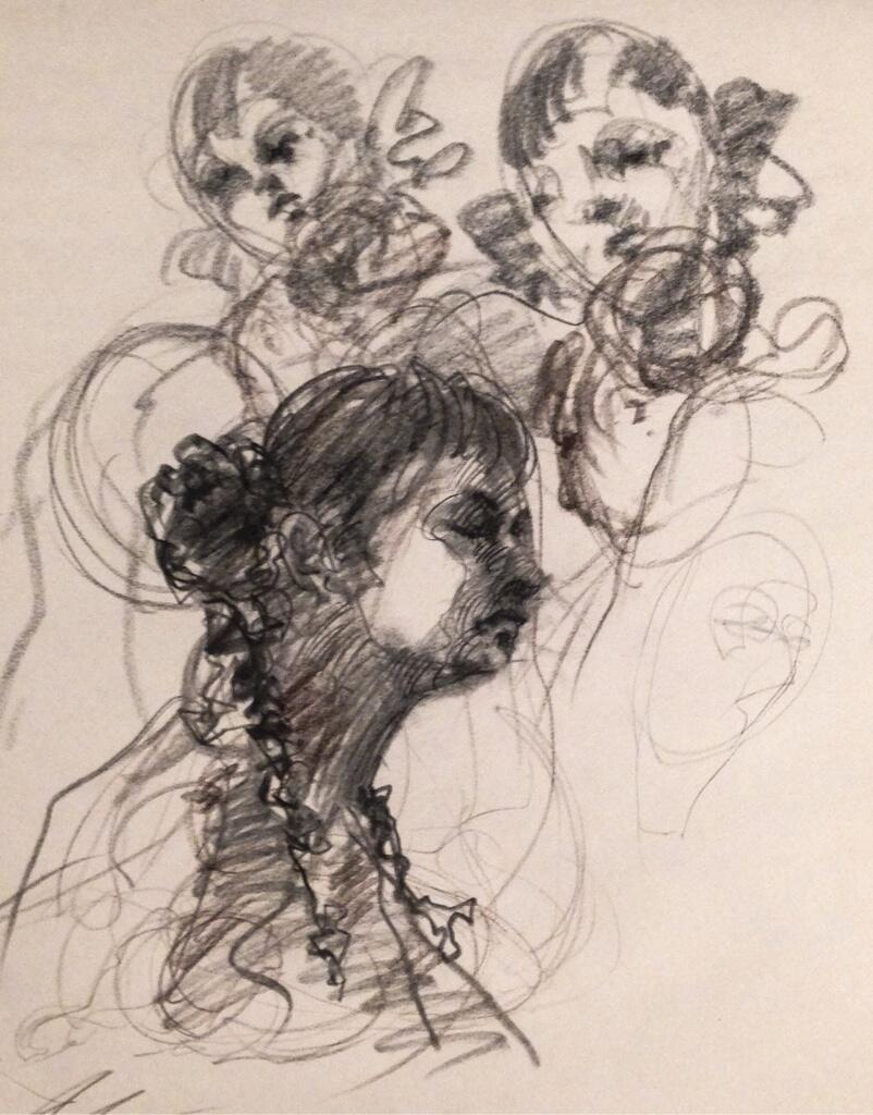 This is a good one, Jerry. @jerryshawback 350 #draw365 #draw2live #drawing #thedailysketch http://t.co/RLua8Tplm2