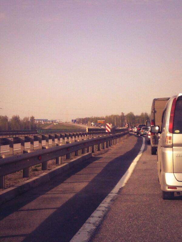 М4 ДОН первомайские пробки Московская область Тульская область ПВП