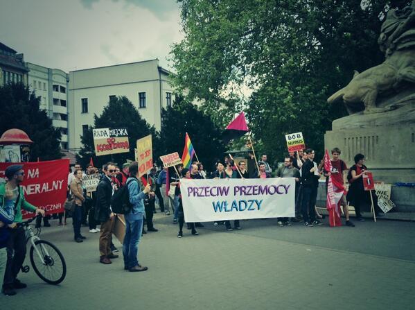 #1maja Strajk generalny! http://t.co/X4wbLqeSwW