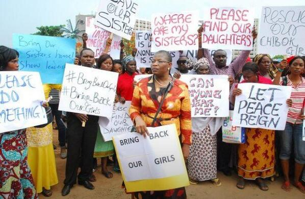 What kinda world... Such sadness. Raise your voice! #BringBackOurGirls http://t.co/t3bF6lR5mu
