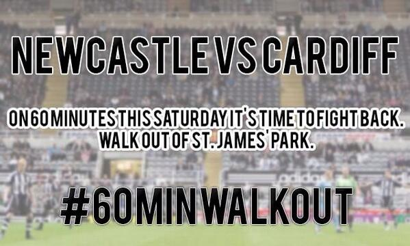 #60minwalkout Ho'way everyone, let's fight back... Retweet the fuck out of this!!! Its our club not his... http://t.co/qObbpS4qM7