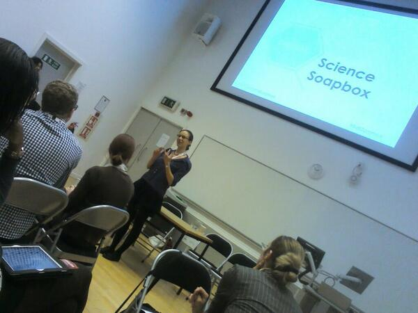 Thumbnail for #SciComm14Soapbox