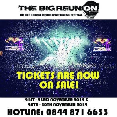 The Big Reunion 2014 is now on sale! #thebigreunion #TBR2014 #thebigreunion2014 #TBR #skegness #reunion #festival http://t.co/xgeOStPUMa