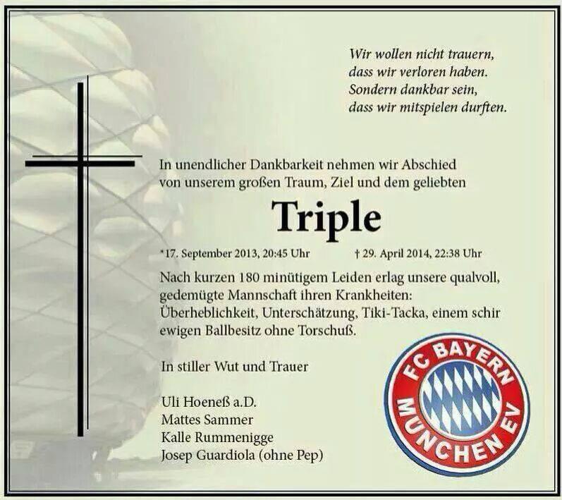Todesanzeigen Bayern