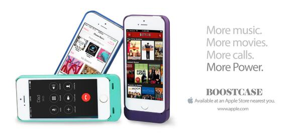 More battery power? More possibilities. Visit your nearest Apple store for your very own Powercase. http://t.co/97qU33ksCC