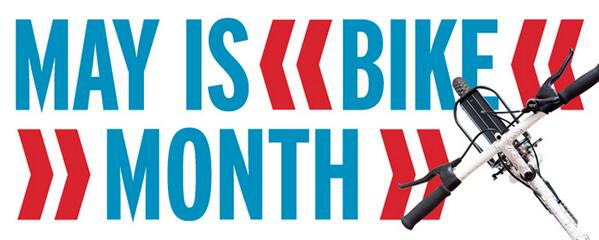 HAPPY NAT'L BIKE MONTH! If you need a reason to ride, @BikeLeague has plenty for you: http://t.co/Y7iBqdU37X | http://t.co/ZMkQjN7Hbs