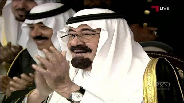 صور خادم الحرمين فى حفل افتتاح جوهرة جدة الخميس 2-7-1435