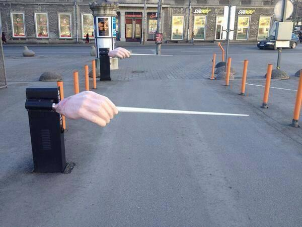 The entrance to the car park of Estonian State Opera) http://t.co/How0n0YScd (via @ClassicFM)