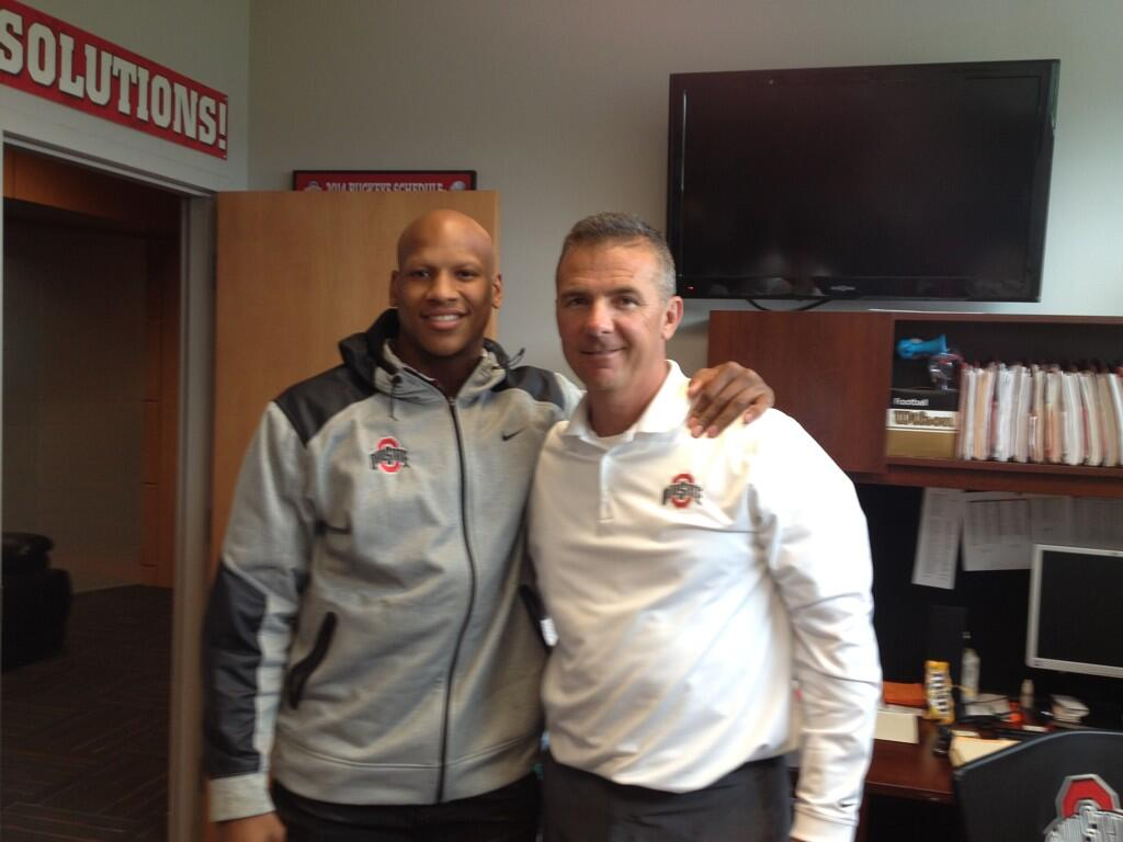 "Ryan Shazier Family >> Ryan Shazier on Twitter: ""I want to thank the best coach n college football @OSUCoachMeyer for ..."