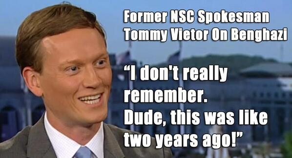 Dude! Hillary Clinton hires Tommy Vietor for Benghazi spin