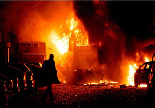 BmlN24KCYAA9AVM Enough Graphic Photos: Another Bomb Blast Hits Nyanya Abuja, 70 People Dead.