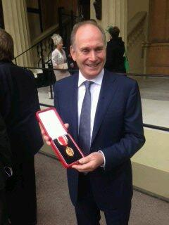 Image result for Sir Roger De Haan Knighthood