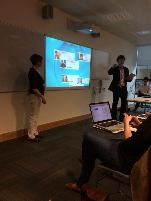 Students designed NUI's mobile App.  #BbTLC2014 http://t.co/Lu3nXiL5NF