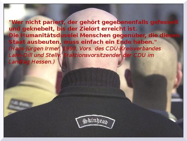 """CDU-Rassismus aus der """"Mitte"""" der Gesellschaft, da denke ich an einige meiner Follower. #rassismus #cdu #irmer http://t.co/54Mtj7gwx8"""