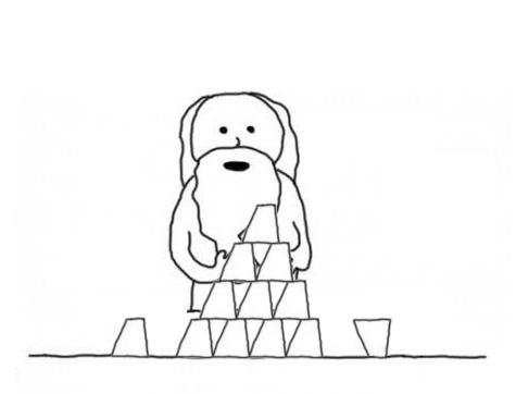 神がカップスタックスを作るとき #神が作るとき