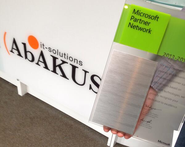 abakus it solutions on twitter we just got our competency plate microsoft silver partner microsoft abakus_it httptcovf0lvaylql