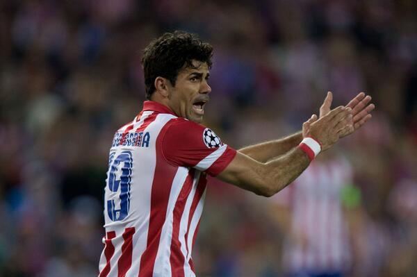 Arsenal to offer Atletico Madrid £31m for Diego Costa as the Gunners battle Chelsea [Mirror]