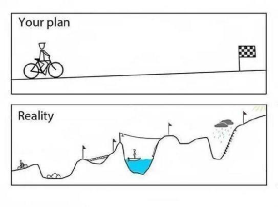Your Startup Journey is filled with Emotional Swings and Real Obstacles