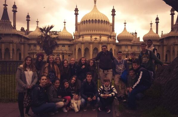 At the Royal Pavilion in Brighton http://t.co/dQGr2McN94