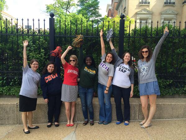 Today @AAUW encourages students to #ReachHigher as they complete their education. http://t.co/J3Vb6NJ7MD http://t.co/mtxSFmJSrP