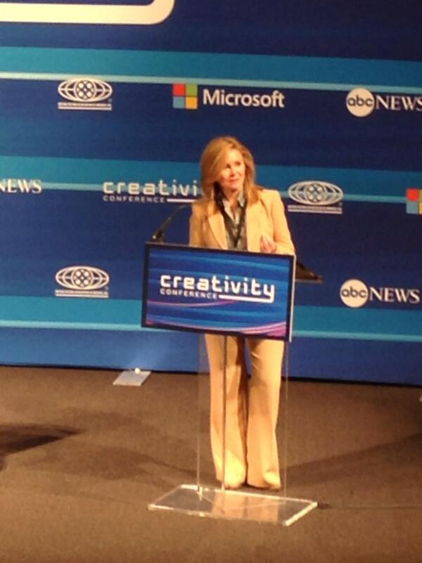 Tennessee Rep. @MarshaBlackburn up now at #CreativityCon http://t.co/iiUM9uR1XI