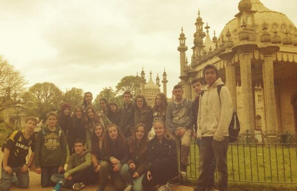 Royal Pavilion @ Brighton #Worthing14 http://t.co/zSkYkwaWgy