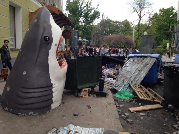 Сепаратисты приехали в Одессу на авто с донецкими номерами - Цензор.НЕТ 8557