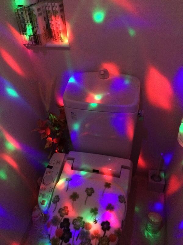 みさきっち邸のトイレの電気つけた瞬間焦ったwwww http://t.co/i6Spdh6PEY
