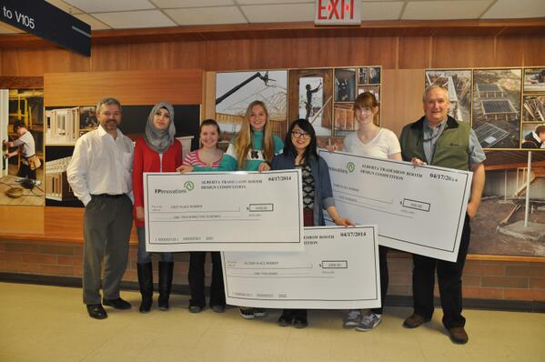 NAIT On Twitter Congrats To Interior Design Students Who Won Total Of 3k In Recent Fpinnovations Competition