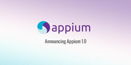 Oh, appy day! Appium 1.0 will be launched this evening. Find out what's new: http://t.co/lXqgDxubKh @AppiumDevs http://t.co/NrefbGWhfd