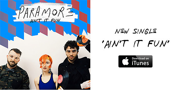 Get 'Ain't It Fun' on iTunes: http://t.co/oknUuWv6o0   Request it now on radio stations: http://t.co/BiODI6u8tf  http://t.co/67M58ioIaL