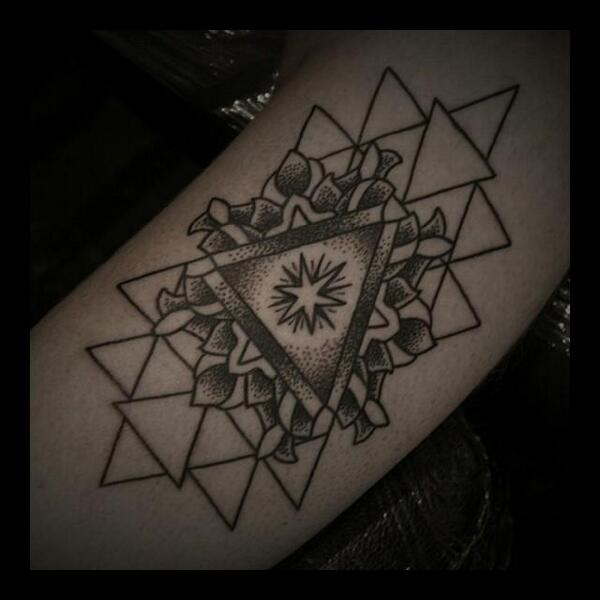 Shall Adore Tattoo On Twitter Mandala Geometry By Igor Sarkanais